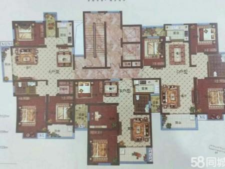 二中对面清华园1楼3室2厅 97平 69万