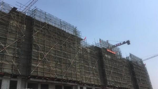 福惠家园工程进度︱封顶大吉匠筑居,不负久侯家音来