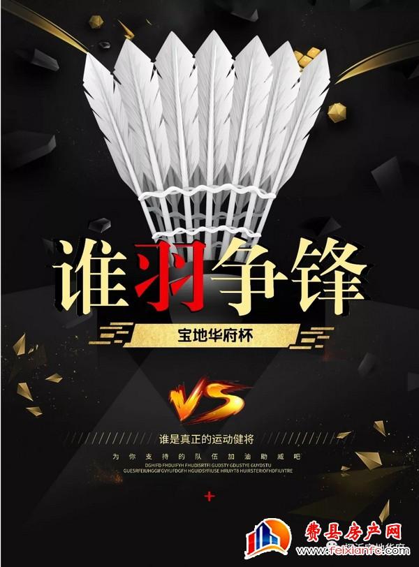 恭祝宝地华府杯羽毛球比赛圆满落幕